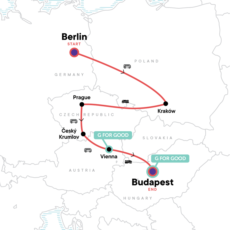 Central Europe 2021 Map