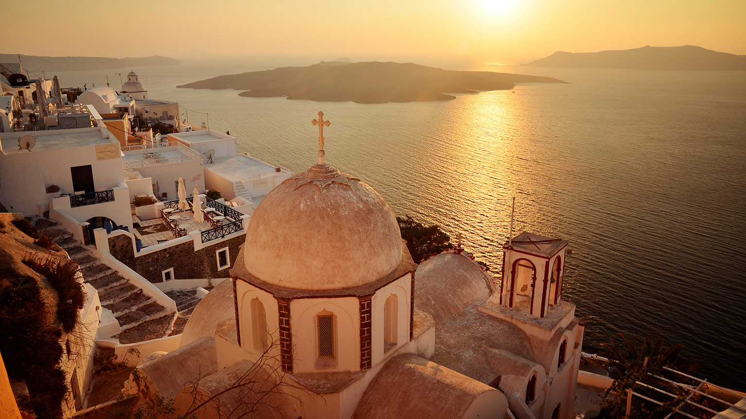 Greece-Island-Sunset-Church-Dome-Ocean-Scott-Urquhart