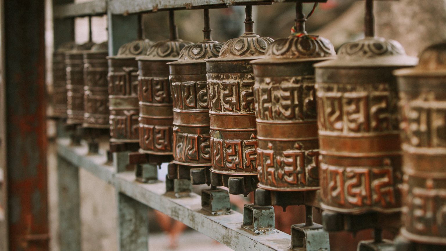 IndiaNepal-Josh-Beecher-Prayer-Wheels