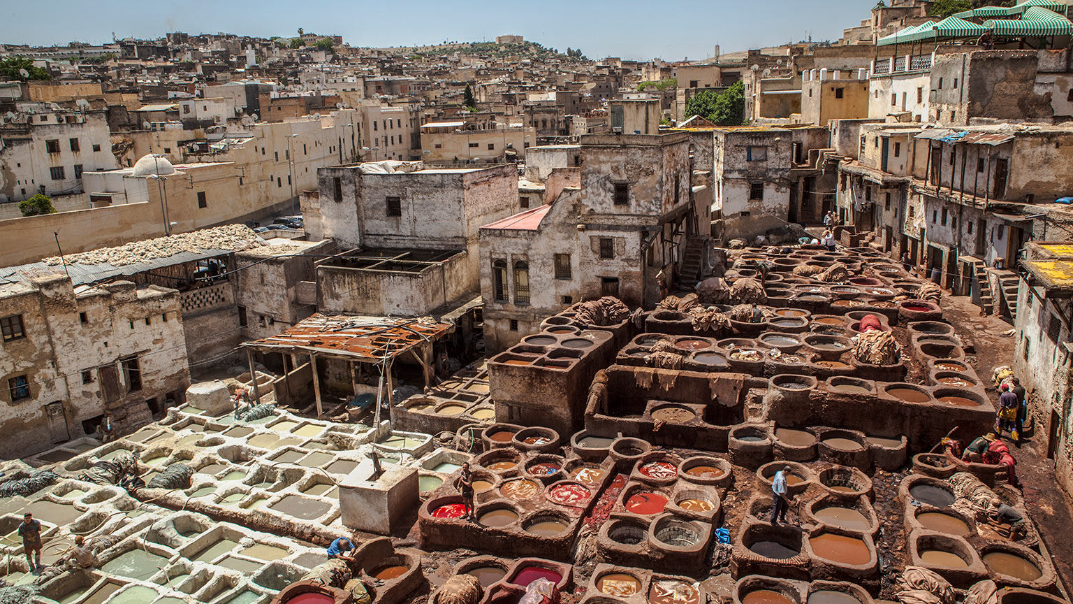 Morocco-Fes-Tannery-Landscape-Ruth-Murphy