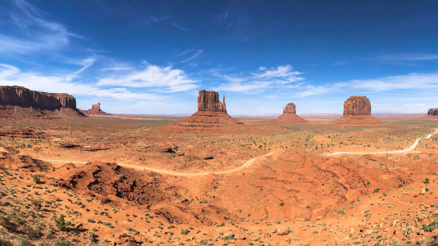 Western USA Monument valley