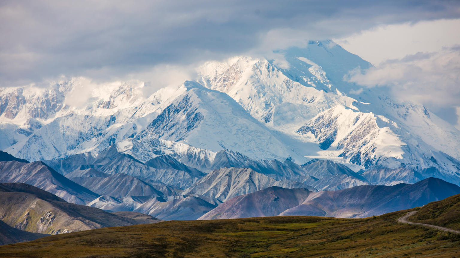 Alaska Denali National Park Mountain