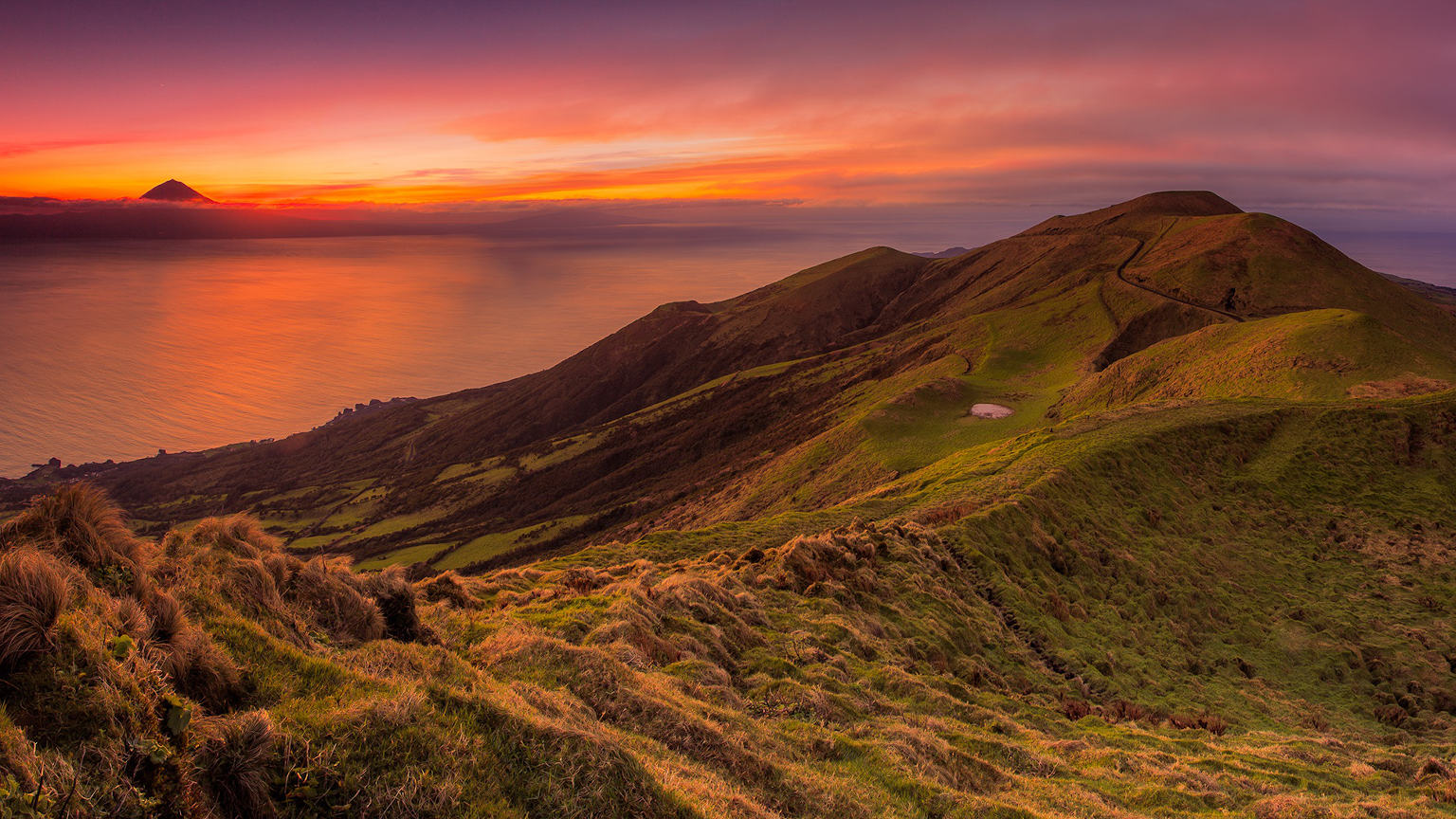 Azores sunset cropped